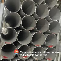 Buy cheap Stainless Steel Welded Pipes, ASTM A312 TP304,TP304L,TP304H,TP321,TP316L,ASTM A790 S31803,SCH10, SCH40,6M,11.8M from wholesalers