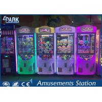 Buy cheap coin operated crazy toy gift vending machine claw crane machine from wholesalers