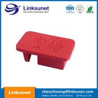 Buy cheap 35MM Plastic Injection Molding RED Cap Mold With ROHS REACH Certificate from wholesalers