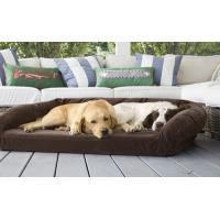 Buy cheap Luxury Suede Memory Foam Orthopedic Dog Bed , Non - Slip Bottom Orthopedic Egg Crate Dog Bed from wholesalers
