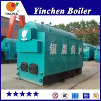 Buy cheap Textile Industry Fire And Water Tube Boiler / Coal Wood Pellet Fired Steam Boiler from wholesalers