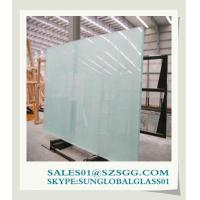 Buy cheap Sandblasted Acid Etched Glass from wholesalers
