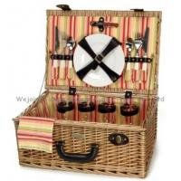 Buy cheap wejoin wholesale wicker picnic basket from wholesalers