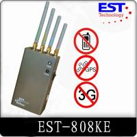 Buy cheap Indoor 30dbm Portable Cell Phone Jammer 1 Watt For Conference Room from wholesalers