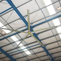 Buy cheap Stable Good Cooling Effect Hvls Ceiling Fans Large Size Silent from wholesalers