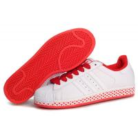 Buy cheap cheap Adidas Superstar 2 - White Red Stars Model: 249 from wholesalers