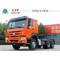 Buy cheap HOWO 6X4 Tractor Truck With 420 Hp Euro II Engine RHD For Africa from wholesalers