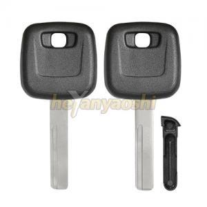 Buy cheap Sliding Chip Holder Volvo Transponder Key Shell Uncut HU56R Key Blank product