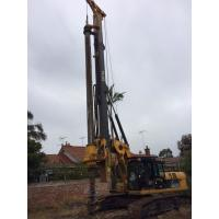 Max Drilling Depth 62m Pile Driving Equipment , Borehole Drilling Machine 7~26 Rpm Rotation