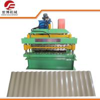 Buy cheap Computer Control Metal Roofing Sheet Making Machine Making Building Materials from wholesalers