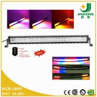 Buy cheap NEW! RGB strobe 180w led light bar for truck jeep RV SUV ATV offroad boat from wholesalers