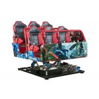 Buy cheap 380V / 220V 5D Cinema Theatre , 12D Motion Ride Multi Seats For Adult from wholesalers
