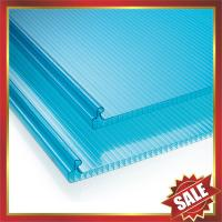 Buy cheap U lock hollow pc sheet,locking structure multi wall sheet,U lock polycarbonate sheet,locking pc sheet for building cover from wholesalers