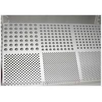 Buy cheap Round Hole Perforated Aluminum Plate , 3003 H14 Aluminum Sheet With Holes from wholesalers