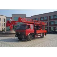 Buy cheap Portable Truck Mounted Water Well Drilling Rig , Hole Depth 300m - 600m from wholesalers