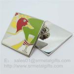 Buy cheap Cloisonne soft enamel Collar Lapel Pins, custom Cloisonne Enameled Pin butterfly clutch from wholesalers