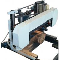 Buy cheap CNC Large Bandsaw Horizontal band sawmill wood saw lumber mill from wholesalers