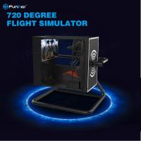 Buy cheap 720° Virtual Reality Flight Simulator With Motion Control / Full-Digital Servo System from wholesalers