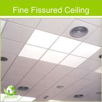 Buy cheap fine fissured ceiling tile of mineral fiber from wholesalers