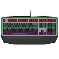 Buy cheap RGB Backlit Gaming Computer Keyboard 108 Keys With Conflict - Free Design from wholesalers