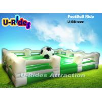 China Three Automatic Speed Inflatable Gladiator Game Football Shape 12 Months Warranty on sale