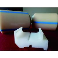 Buy cheap Ultra High Molecular Weight PE Plastic Machine Parts Nylon Block / Groove from wholesalers