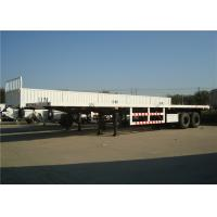 Buy cheap liangshan manufacturer 2 or 3 Axles cargo carrier transport side wall cargo semi trail from wholesalers