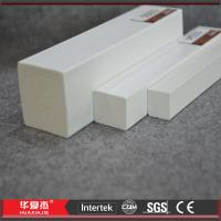 Buy cheap 7ft 8ft 10ft 12ft PVC Trim Board Decorative White Vinyl PVC Foam Profile from wholesalers