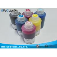Buy cheap DX-7 Printer Head Dye Sublimation Heat Transfer Ink For T Shirt Printing 1.1kgs Per Bottle from wholesalers