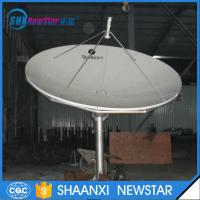 Buy cheap 3.7m Small size parabolic Receiving Only Aluminum Satellite TV Dish Antenna from wholesalers