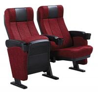 Buy cheap Moveable Armrest Audience Seating Chairs Flame Retardant Fabric ISO from wholesalers