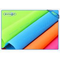 Orange / Pink PP Spunbond Non Woven Fabric Rolls Embossed / Seasame