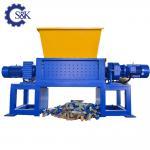 Buy cheap Plastic Lump Twin Shaft Shredder Plastic Bending Press Shredding Machine in Africa from wholesalers