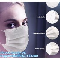 Buy cheap FDA approval medical non woven surgical disposable 3 ply earloop face mask from wholesalers