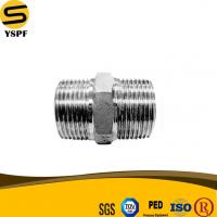 Buy cheap AISI SS304、SS304L、SS316、SS316L、SS201、ASTM A351 Stainless Steel Hex Nipple 150LBS Casting Fittings from wholesalers