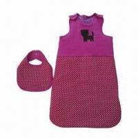 Buy cheap Baby Sleeping Bag, Made of 100% Cotton Interlock 200gsm/Polyester Padding, Various Colors Available from wholesalers
