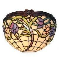 Buy cheap WL120014-stained glass art decor wall lamp from wholesalers