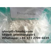 Buy cheap 99% Min Pure Local Anesthetic Drugs Benzocaine CAS 94-09-7 for Relieving Pain from wholesalers