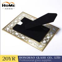 Buy cheap Free Standing Brass And Glass Picture Frame Free Sample Available from wholesalers