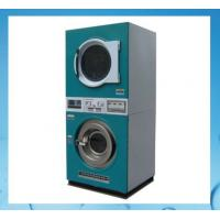 Buy cheap stack laundry washing machine and dryer 12KG+12KG for laundry stores,shops product
