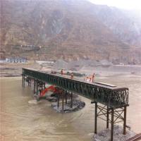 Buy cheap Easy Assemble Floating Pontoon Bridge Emergency Use Temporary Steel Bridge product