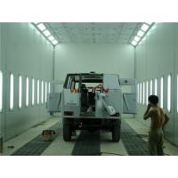 Buy cheap 2 Rows Of Pits Side Draft Paint Booth For Painting And Drying Bus from wholesalers