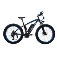 Buy cheap 26 Inch Fat Tire Electric Bike , Electric Assist Bicycle Less Laborious from wholesalers
