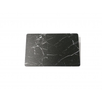 Buy cheap Custom Logo 85x54mm Black Frosted Marble Elegant Business Card from wholesalers
