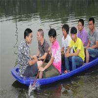 Buy cheap Supply PE boat ,rotational moulding plastic fish kayak ,OEM rotomoulding plastic fish boat from wholesalers