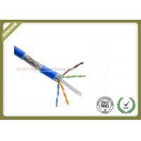 Buy cheap 1000ft Cat6 SFTP Network Cable , 23AWG Cat6 Internet Cable With PVC / LSZH Jacket from wholesalers