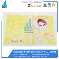 Buy cheap Cute A4 size plastic file clip folder from wholesalers