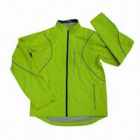 Buy cheap Men's Sports Jacket with Reflex Piping, YKK Zipper on Front, 2013 New Style, International Standard from wholesalers