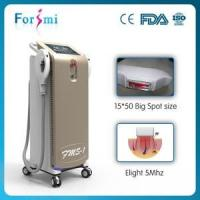 Buy cheap FDA Approved IPL SHR Machine With Big Spot Size Crystal vertical ipl lamp 3000W big screen from wholesalers