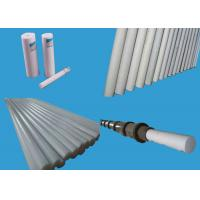 Buy cheap Bronze Filled PTFE Plastic Sheet / Pure White PTFE Rod Extrusion from wholesalers
